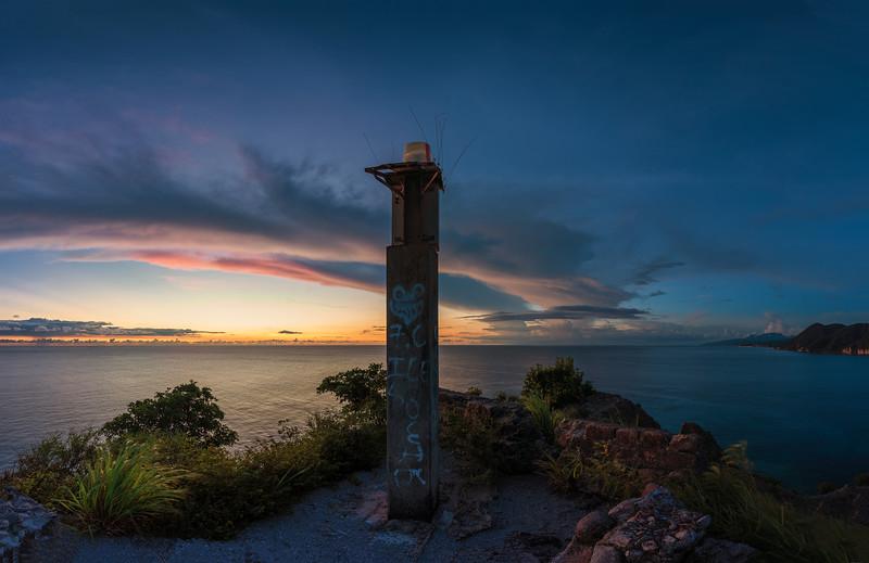 Old Navigation Light - Scottshead, Dominica