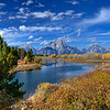 Fall Morning at Oxbow Bend, Grand Teton National Park, Wyoming