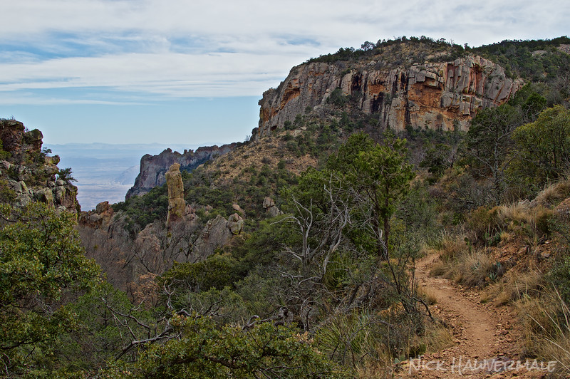 On the Trail to South Rim