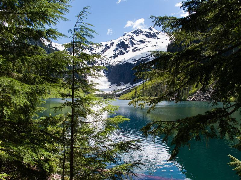 Goat Lake, Monte Cristo Peaks, Washington State