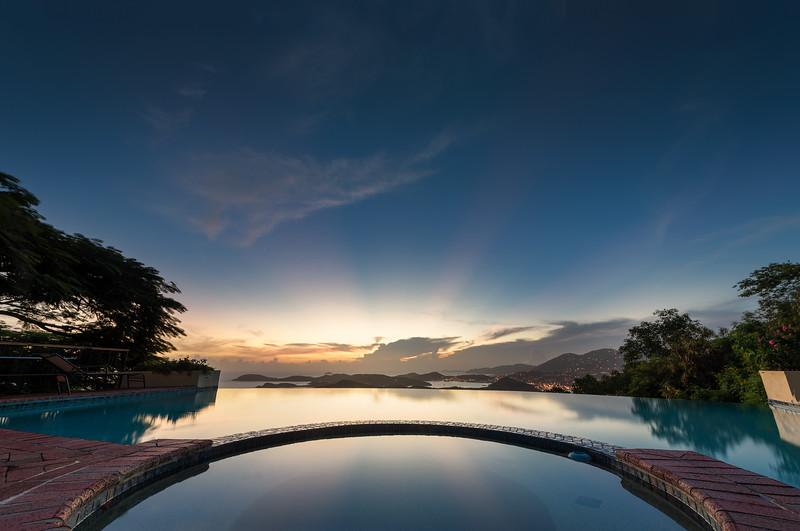 Infinity Pool, St Thomas USVI