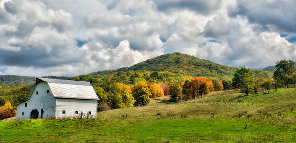 The Fall Mountain Top