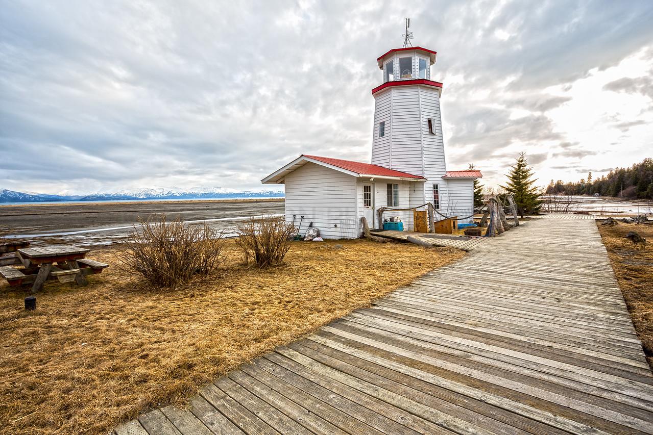 Homer Lighthouse<br /> <br /> Canon 5D MK III<br /> Canon EF 17-40mm f/4L USM<br /> Homer, Alaska