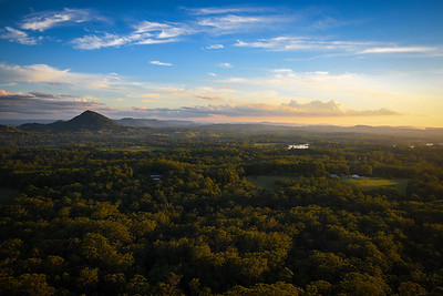 View from Mount Tinbeerwah Lookout. Australia
