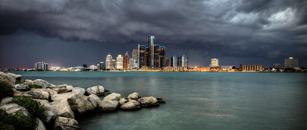 Storm Over Detroit