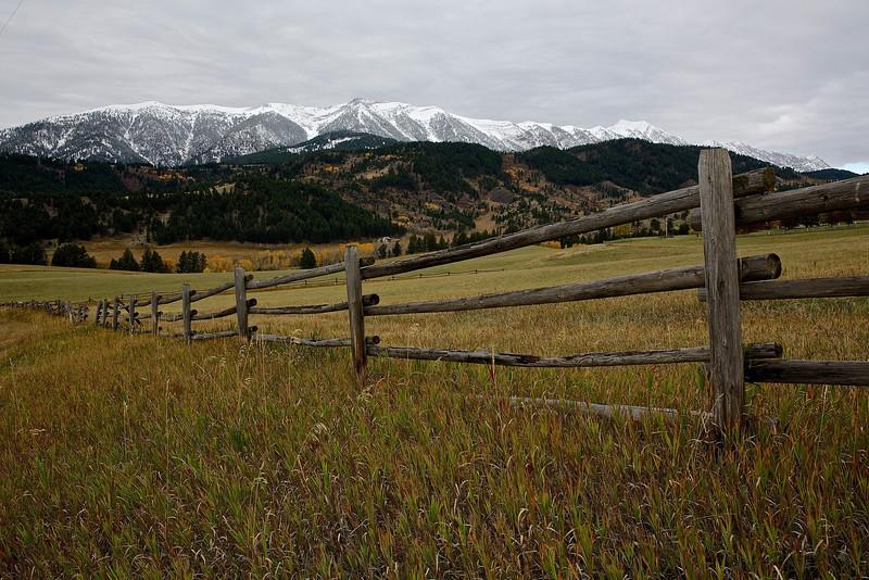 Bridger Mountains Near Bozeman, Montana