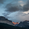 Thunderstorm over Glacier National Park
