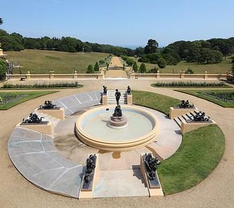 Osborne House terrace gardens
