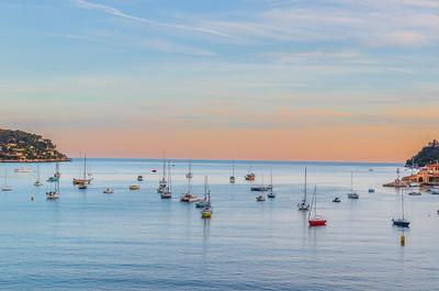 Villefranche-sur-Mer, Cote d'Azur.
