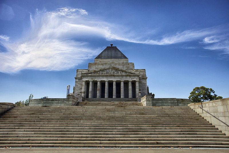 Victoria's Shrine of Remembrance