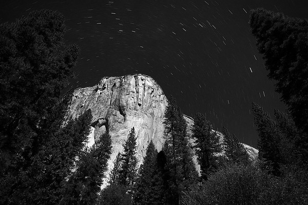 El Capitan Star Trails