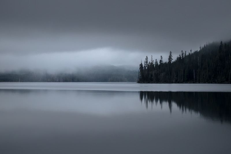 Last Light at Vernon Lake