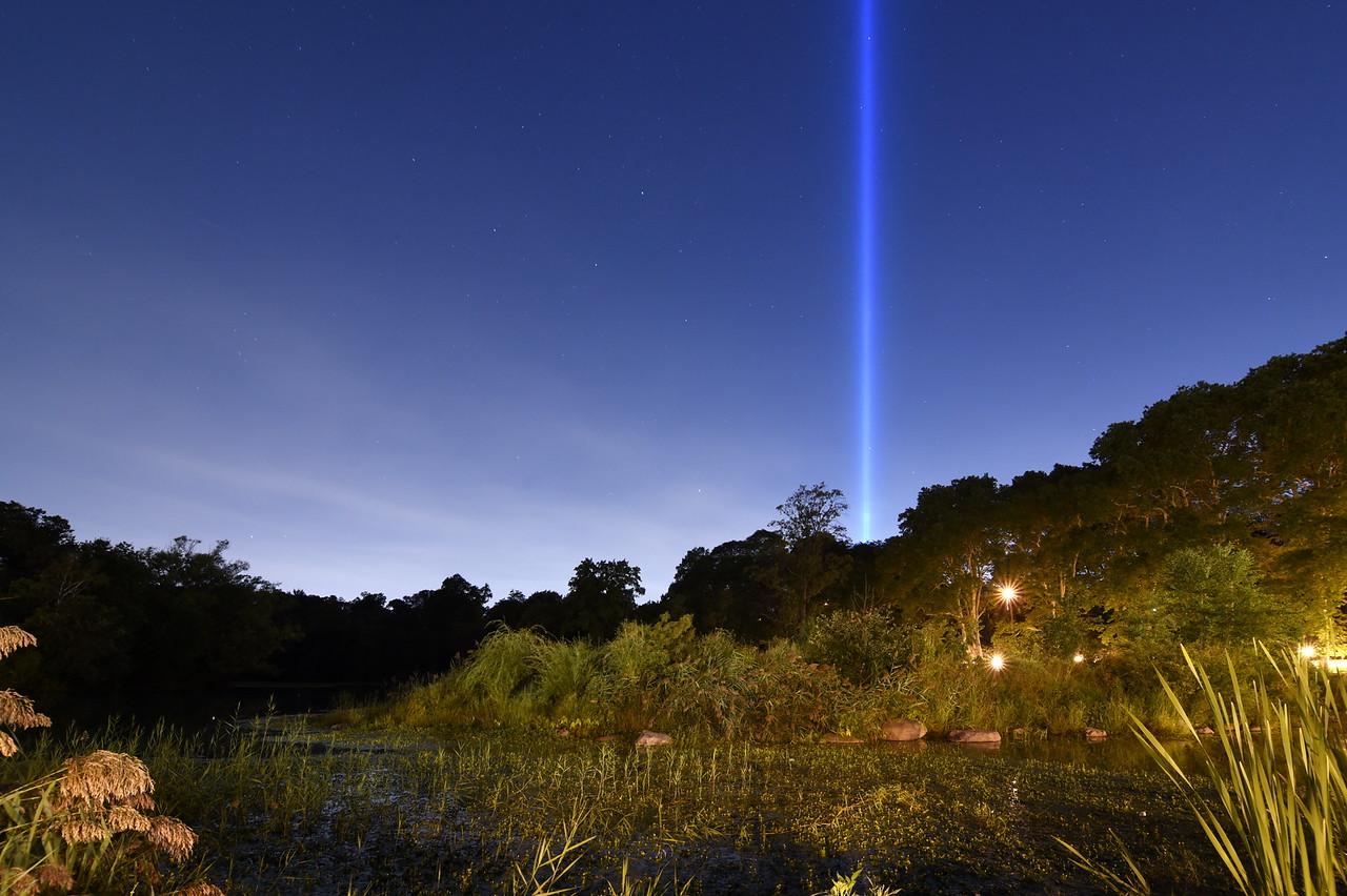 Tribute In Light From Prospect Park