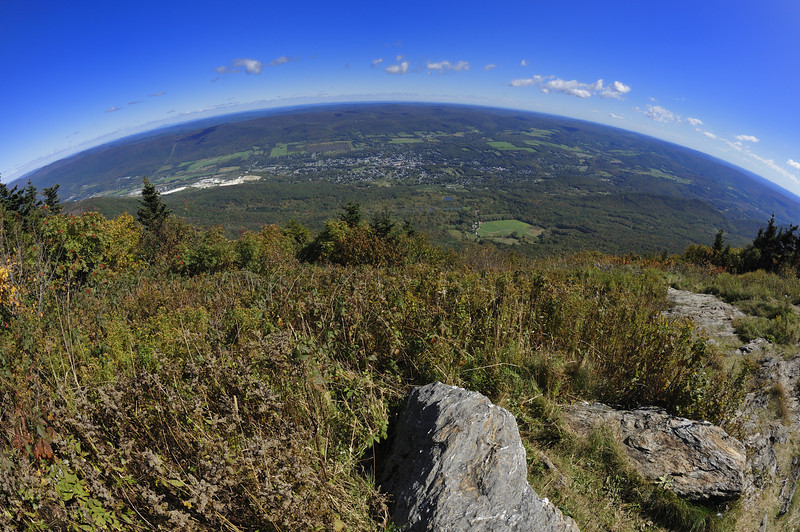 Fisheye View from Mt. Greylock, Massachusetts