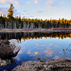 Tranquil Beaver pond, Algonquin Provincial Park