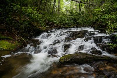 Spring Cascades on Wildcat Creek