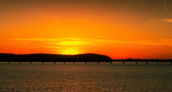 Mile Long Sunset