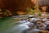 Fall at The Narrows, Zion National Park, Utah