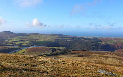 The view from Snaefell 13