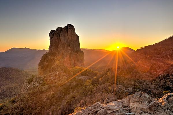 Belougery Spire Sunrise