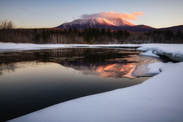 Breaking Dawn Mount Katahdin