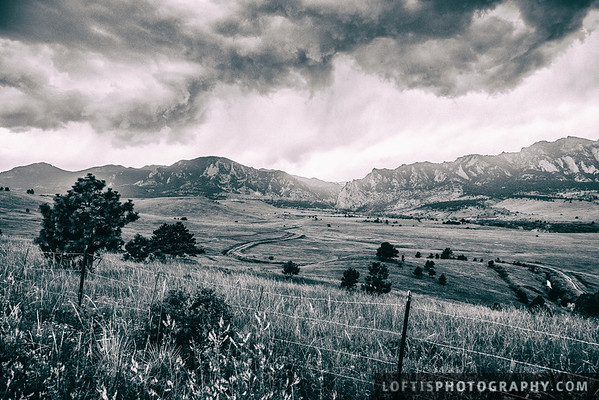 Storm brewing over the Rockies