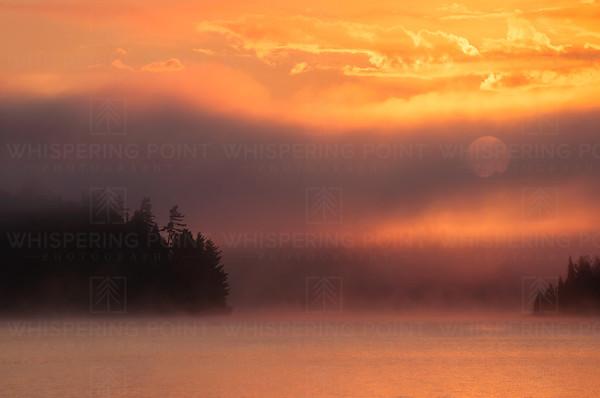 Knife Lake Sunrise #2 BWCA (112)