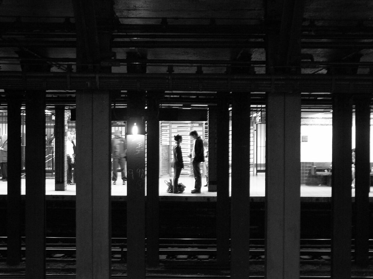 Title: Subway Romance Location:New York City, NY, USA