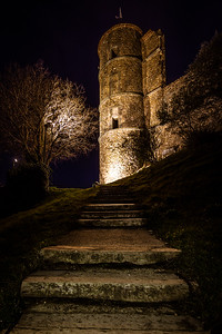 Château de Grimaud - En approche.
