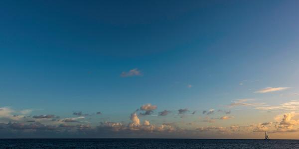 Sunset Sail, St Thomas USVI