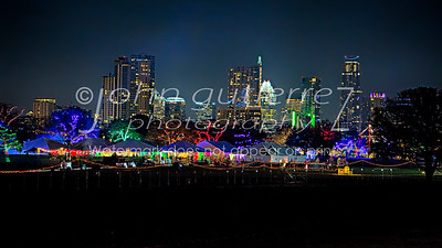 Zilker Christmas Skyline-1