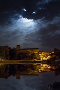 Threatening moon