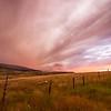 Sunset, Livingston, Montana