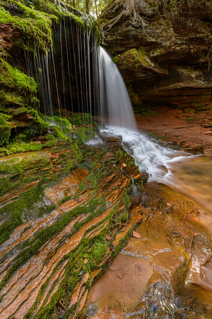 Sandstone and Waterfall