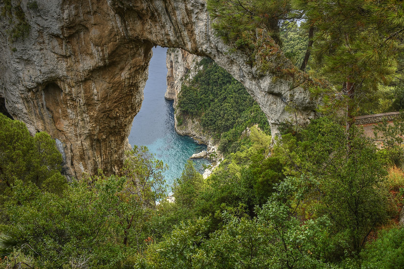 Arco Naturale on the island of Capri