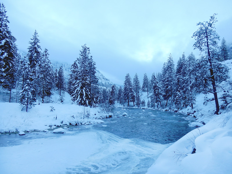 Icicle River