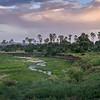 The Tarangire River in Tarangire National Park, Tanzania, East Africa