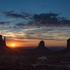 A monumental sunrise.