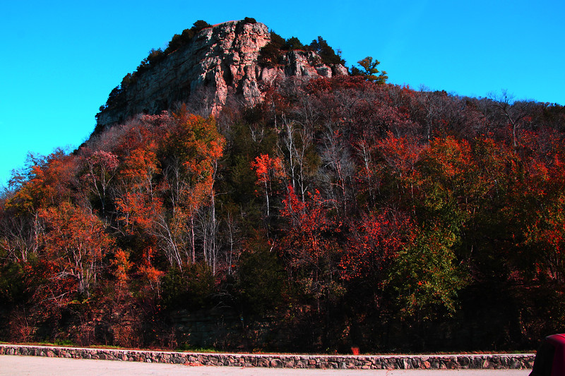 rocky fall