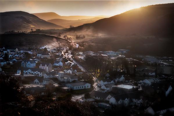 Machynlleth Sunrise - Wales