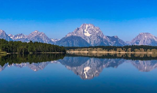 Peak Reflection. Grand Teton N.P
