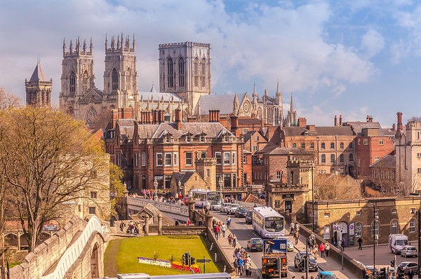 The City of York, Yorkshire, England.