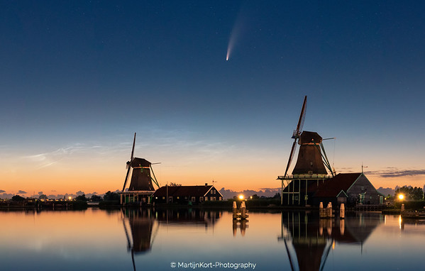 Neowise over Nederland