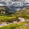 A view while traversing Engineer Mountain, Colorado