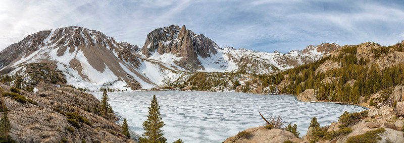 Second Lake and Temple Crag - John Muir Wilderness-3