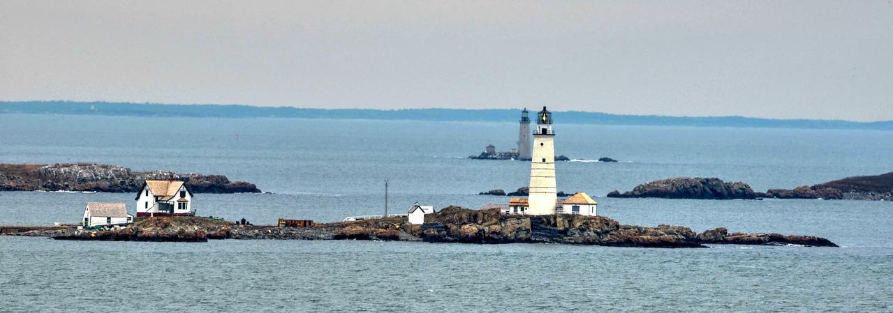 Boston Lighthouse #116. Boston Harbor