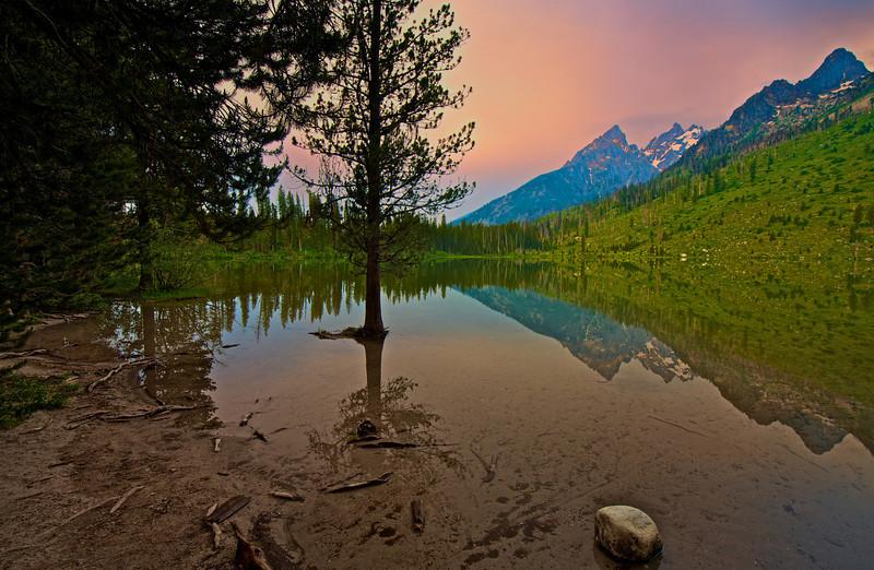 Grand Tetons  String Lake 2012