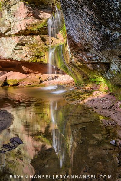 Twin Falls Reflections
