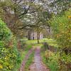 Path to Castle Semple Collegiate Church