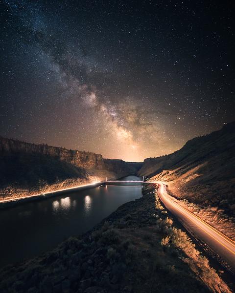 Lake Billy Chinook, OR.